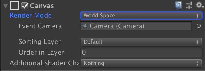 図4: 「World Space - Camera」の設定